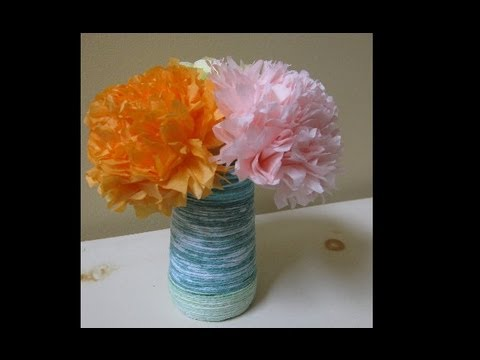 Tissue Paper Flower - Perfect Mother's Day Craft!