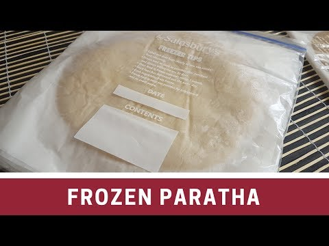 How to make Frozen Paratha   فروزن پراٹھا - Cook with Huda