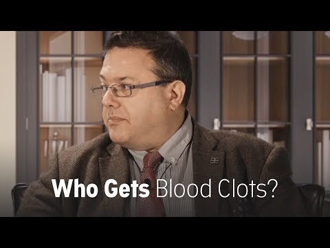 Which cancer patients get blood clots?