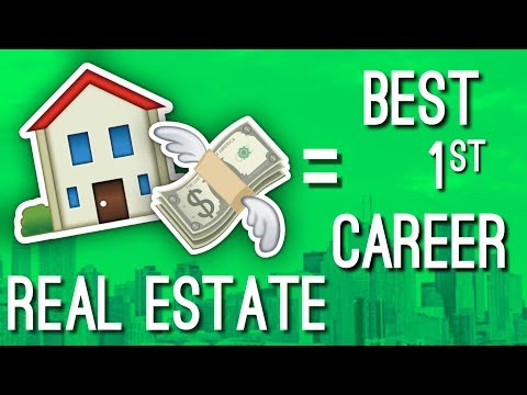 How Being A Real Estate Agent is a GREAT FIRST CAREER