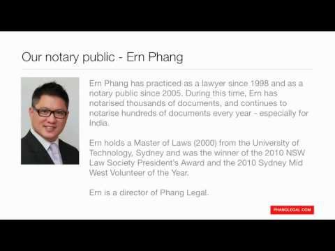 Phang Legal - Notary Public Services - Verifying Indian Drivers Licence