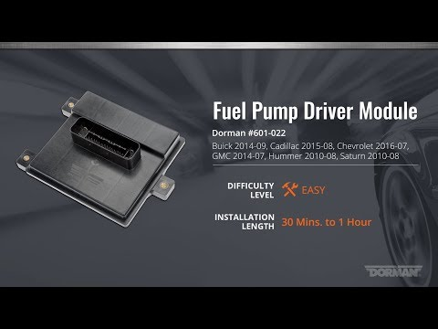 Fuel Pump Driver Module Installation Video by Dorman Products