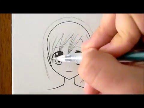 How to Draw Manga Hair, Three Ways