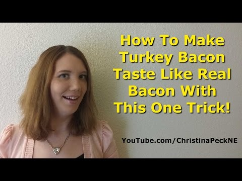 How To Make Turkey Bacon Taste Like Real Bacon With This One Trick!
