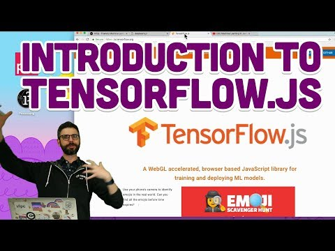 6.1: Introduction to TensorFlow.js - Intelligence and Learning