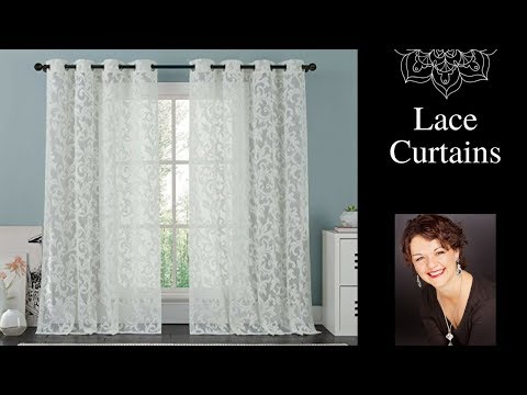 Lace Curtains- How to Decorate Windows With Curtains
