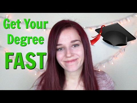 How to Graduate College Early - Tips to Get a College Degree FAST