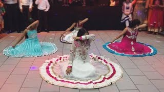 Bollywood dance performance at Saagar & Manisha