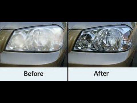 How To Restore Cloudy And Pitted Headlights On The Cheap