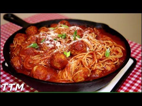 EASY Spaghetti and Meatballs Oven Recipe