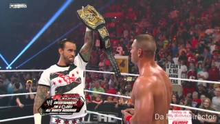 Cm Punk Best Entrance.....