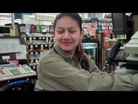 Liz is Working the Safeway