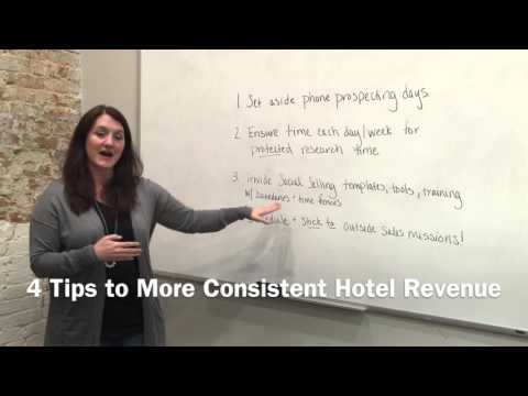 4 Tips to Get More Consistent Hotel Revenue