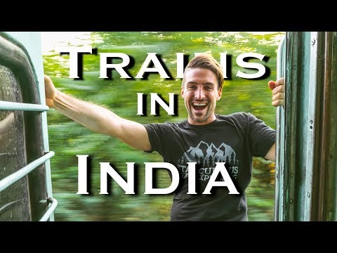 Riding a Train in India   8 Hours on an Indian Train Rajasthan