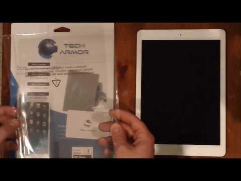 Tech Armor HD Clear Screen Protector iPad Air Review