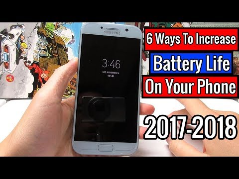 6 Ways To Increase Battery Life On Your Phone