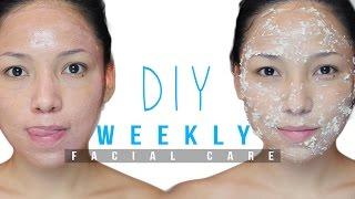 Diy Weekly Facial For Clear Skin Menwomen