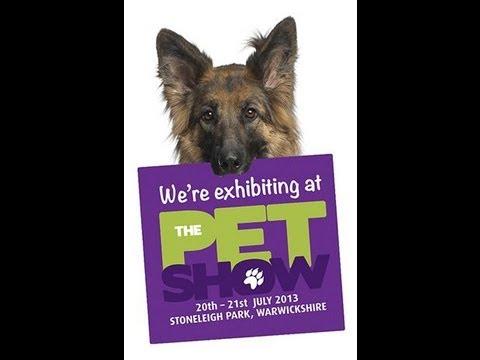The Pet Show 2013. Dog Behaviour Talk. Stoneleigh Park.