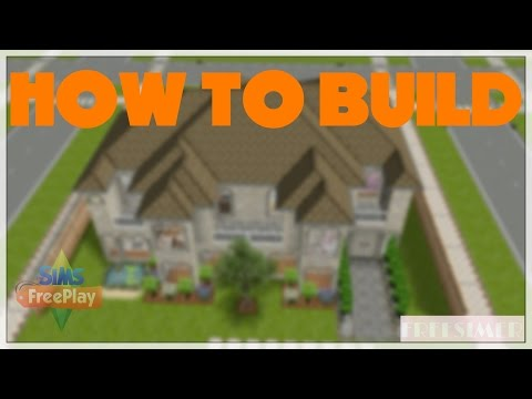 Sims Freeplay - How to build: Family Home