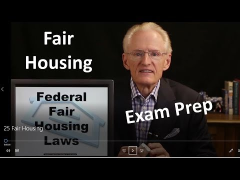 25 Fair Housing: Arizona Real Estate License Exam Prep