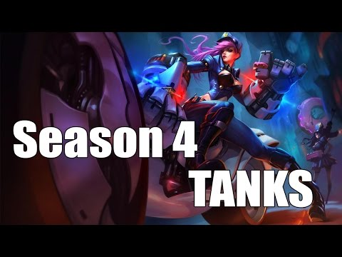 Top 10: Tanks [Season 4] League of legends