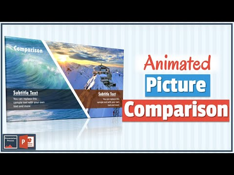 PowerPoint Picture Animation for Comparison Slide