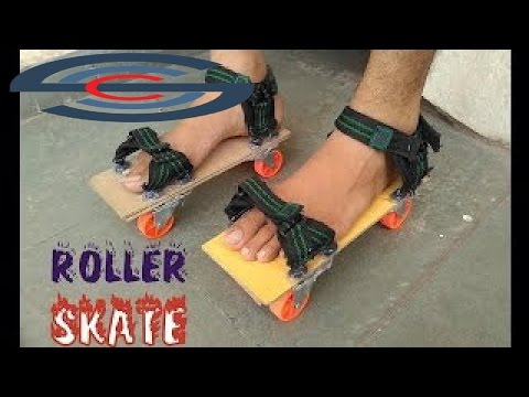 The best Videos - How to make Roller Skate Shoes with help of  glue gun