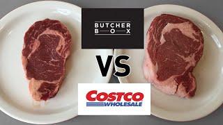 RIBEYE TASTE TEST. Grass-fed vs Costco: Food while fasting