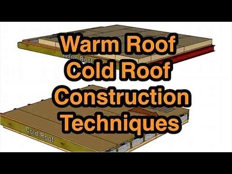 How To Build A Flat Roof Warm Or Cold Construction. What's The Difference?