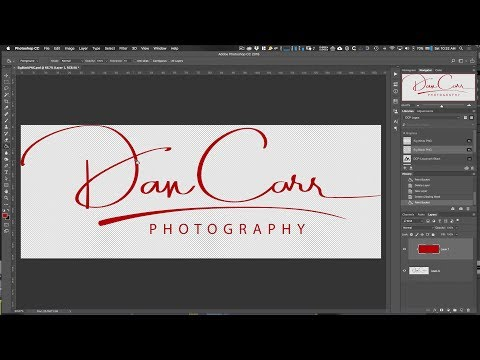 How to Change the Colour of Your Photologo in Photoshop