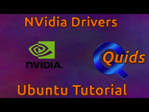 How to Upgrade to Latest NVidia Drivers in Ubuntu 12.04