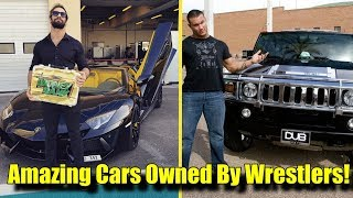 10 MOST AMAZING Cars Owned By WWE Wrestlers! (2018)