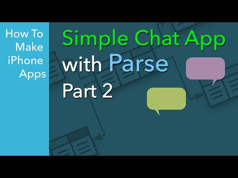 How to Build a Simple iOS Chat App - Ep 2 - Signing up for Parse