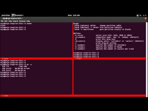 How to Linux Terminal Split Screen With Screen Ubuntu Fedora