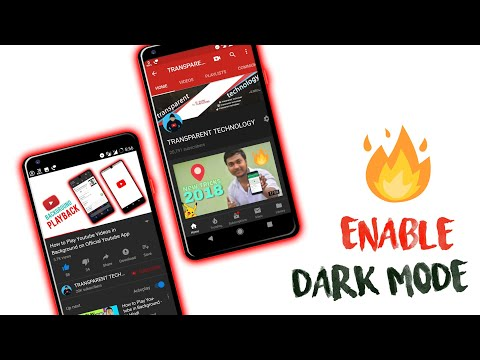 [100%Working]How to Enable Dark Mode in Official youtube Android app