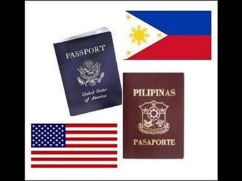 American Citizenship, Dual Citizenship (Philippines), Balikbayan privilege, etc.