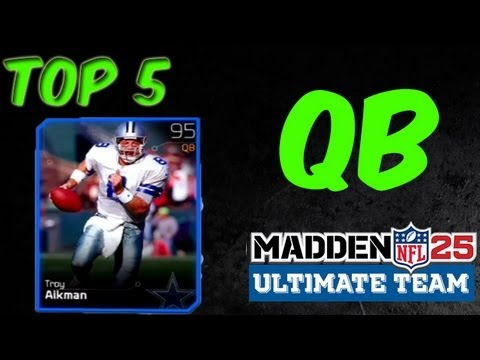 MUT 25 - Top 5 QBs - Madden 25 Ultimate Team