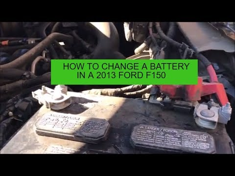 How To Change a Battery in a 2013 Ford F-150