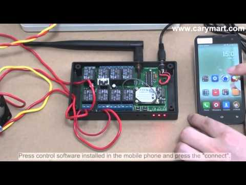 How to Control AC Motor by Mobile Phone WiFi Controller