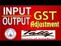Input output GST Adjustment Entries in Tally ERP-9 Part-31 Tally GST for GST Return Adjustment