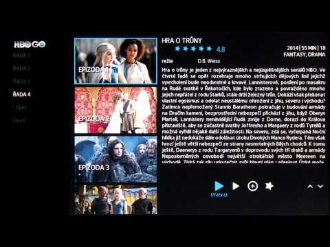 Samsung Smart TV - Videoprůvodce - HBO GO