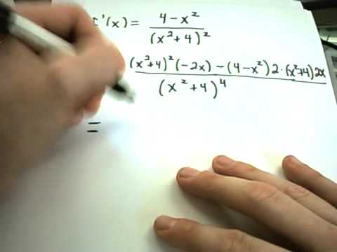 ❖ Finding Local Maximums/Minimums - Second Derivative Test ❖