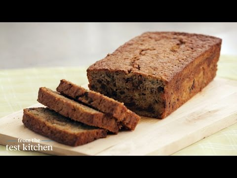 Updated Chocolate Chip Zucchini Loaves - From the Test Kitchen