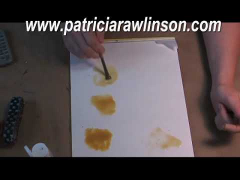 How to Clean Dried paint from a Brush, see it to believe it