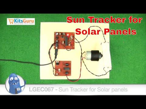 Sun Tracker for Solar Panels by KitsGuru.com   LGEC067 (HINDI)