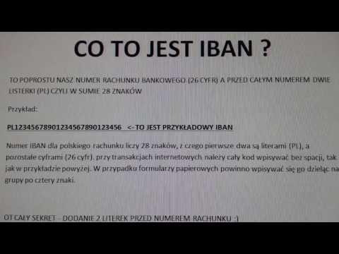 IBAN - International Bank Account Number - jak stosować!