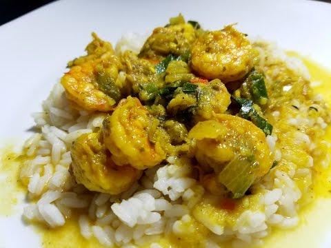 Trinidad Curry Shrimp | Taste of Trini