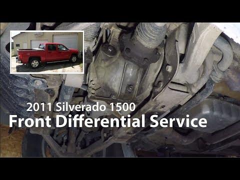 2011 Silverado: Front Differential Service