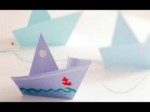 How to make paper boat with easy steps | The crazy craft