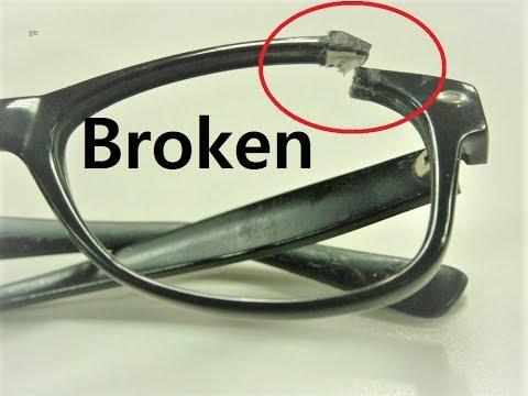 Repair Broken Eyeglasses frame at home | how to repair scratched eyeglass